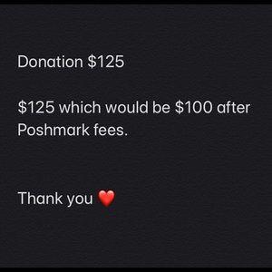 Donation $125